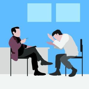 Беседа игромана с психологом